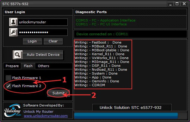 How to unlock E5577S-932 4G Router STC