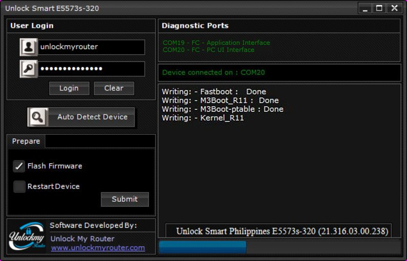 Unlock Smart Philippines E5573s-320