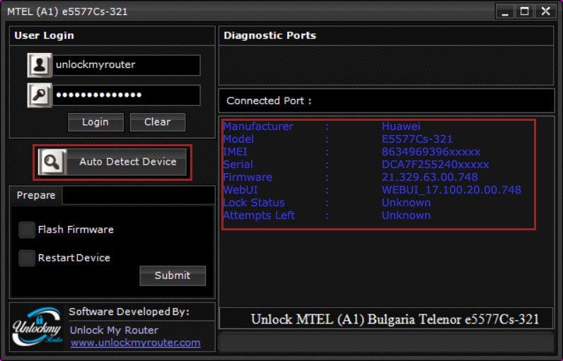 MTEL Bulgaria E5577Cs-321