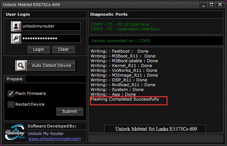 Sri Lanka Telecom Mobitel E5573Cs-609