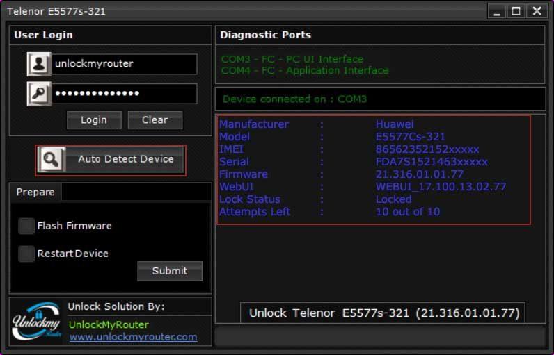 Telenor E5577s-321