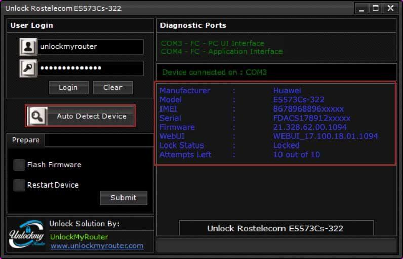 Rostelecom E5573Cs-322